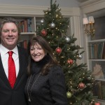 John Tracy and Judi Desiderio Christmas Photo
