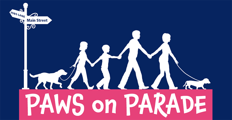 Paws on Parade Poster
