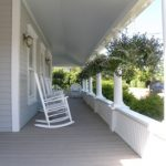 Porches with Rocking Chairs at the Blue Inn