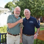 Tom Edmonds (Exec Dir, SH Historical Museum) & Jerry Rosenthal (Exec Dir SH Animal Shelter)