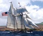 Ship US flag