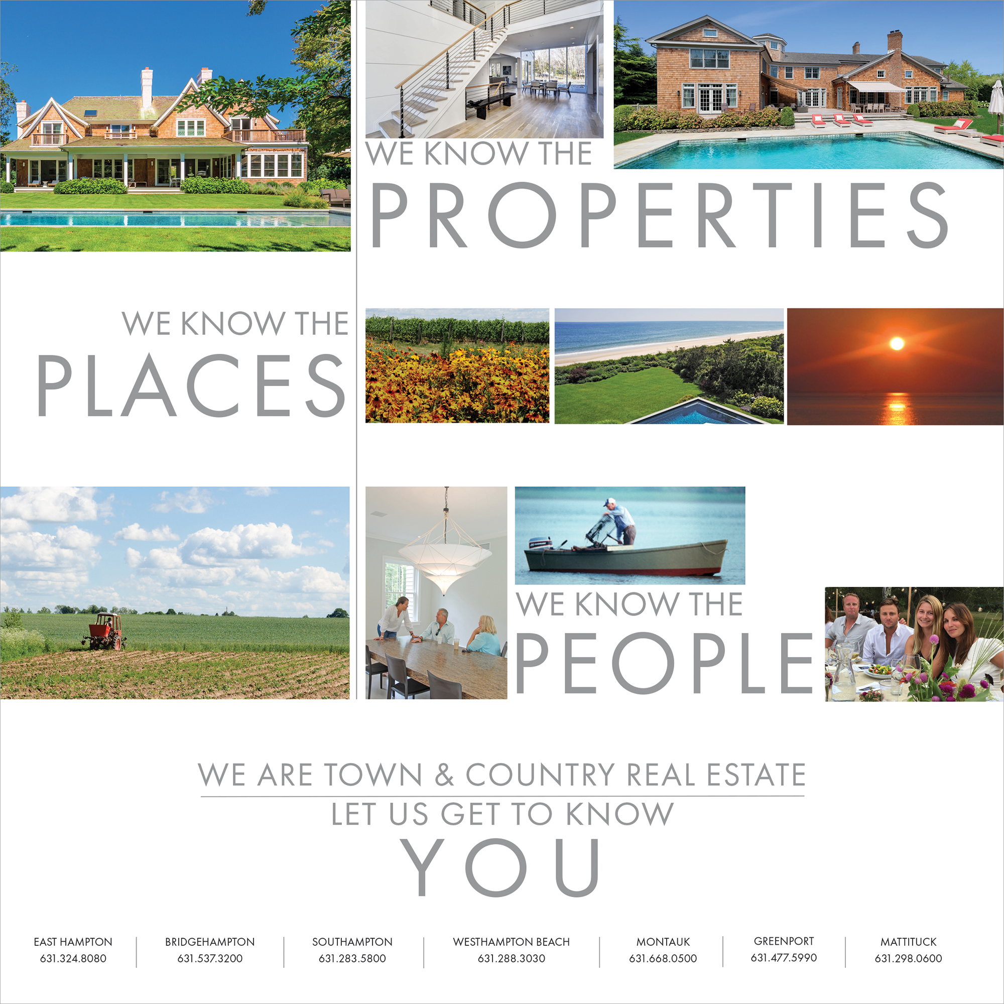 Town & Country Real Estate Branding Ads