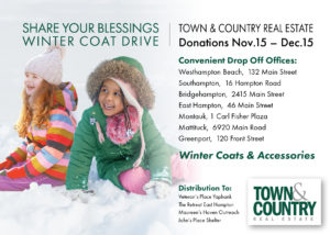 Town & Country Winter Coat Drive 2019