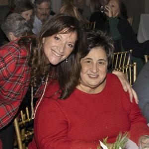 Judi Desiderio and Linda Batiancela